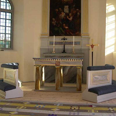 Altare, Timmersdala kyrka.