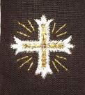 kors, svart stola till Järpås